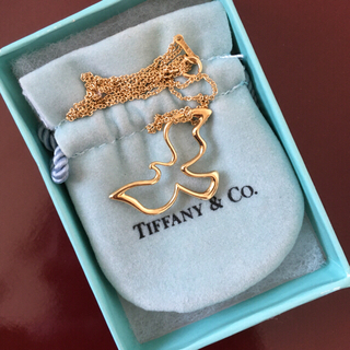 Tiffany & Co. - 美品 ヴィンテージ ティファニー バード 鳥 750 k18 ネックレス