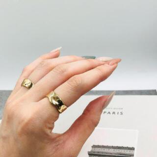 アメリヴィンテージ(Ameri VINTAGE)の167◇ シンプル デザイン リング ゴールド(リング(指輪))