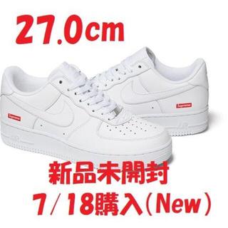 Supreme - Supreme Nike Air Force 1 Low White 27.0