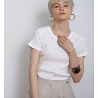 Ameri VINTAGE - etre tokyo リブTシャツ