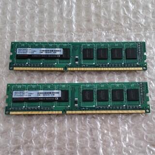 メモリ DDR3 PC3-12800 4GBx2 panram(PCパーツ)