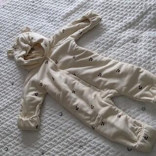 Caramel baby&child  - ꗯ新品ꗯkongessloejd 中綿 クマ耳ロンパース 6M〜9M