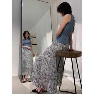FRAY I.D - フレイアイディー/ペイズリープリーツスカート【WHT】新品・タグ付き