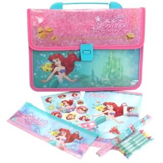 Disney - ディズニープリンセス アリエル ステーショナリーセット 女の子 新品 バッグ