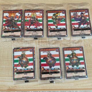 コナミ(KONAMI)のセブンイレブン限定 遊戯王 ラッシュデュエル 全7種(シングルカード)