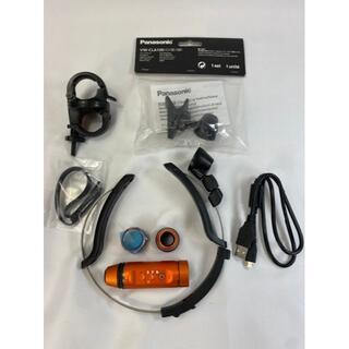 Panasonic - 659 パナソニック ウェアラブルカメラ オレンジ HX-A1H-D