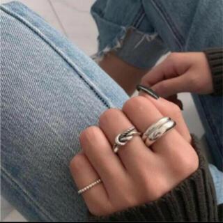 アメリヴィンテージ(Ameri VINTAGE)の197◇ デザイン シルバー リング 3点set silver925(リング(指輪))