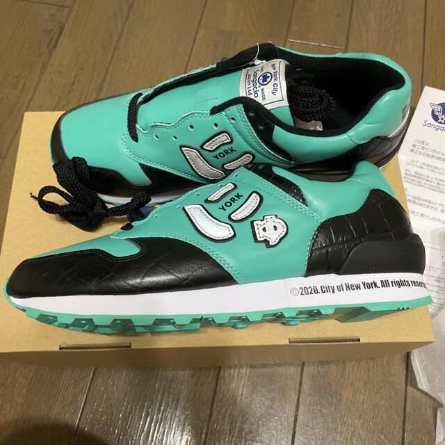 New Balance(ニューバランス)のSangacio サンガッチョ NYC にゅYORK AQUA アクア 27cm メンズの靴/シューズ(スニーカー)の商品写真