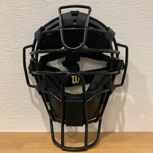 wilson(ウィルソン)の軟式 審判マスク アンパイアマスク 球審マスク スポーツ/アウトドアの野球(防具)の商品写真