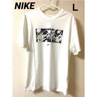 NIKE - NIKE AS M NK SS TEE 1 ホワイトスウッシュデザインTシャツ