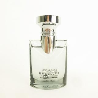 ブルガリ(BVLGARI)のプールオム ソワール オードトワレ 30ml 香水 スプレー 残あり 箱あり(香水(男性用))