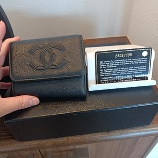 シャネル(CHANEL)の新品未使用♡確実正規品 CHANEL折財布(折り財布)