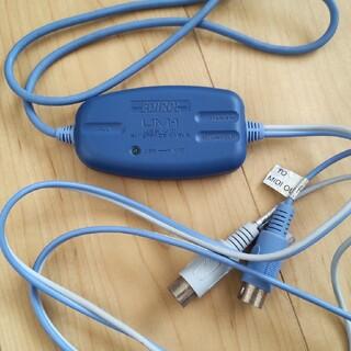 ローランド(Roland)のEDIROL UM-1 USB-MIDIケーブル(MIDIコントローラー)