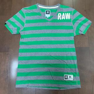 ジースター(G-STAR RAW)のG-STAR RAW ジースター ボーダーTシャツ Sサイズ(Tシャツ/カットソー(半袖/袖なし))
