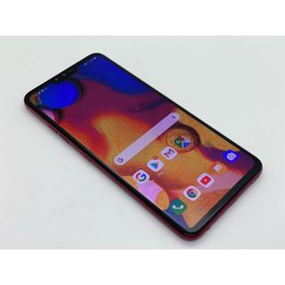エルジーエレクトロニクス(LG Electronics)の[1095] LG V40 ThinQ 128GB レッド SIMフリー(スマートフォン本体)