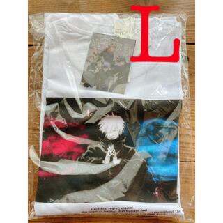 呪術廻戦 RAGEBLUE  レイジーブルー コラボプリントTシャツ 五条悟 L(Tシャツ/カットソー(半袖/袖なし))