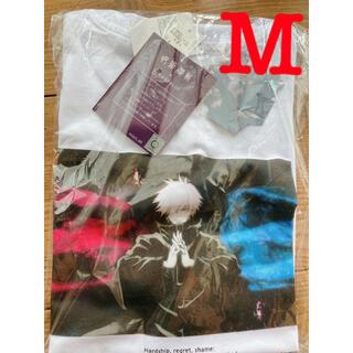 呪術廻戦 RAGEBLUE  レイジーブルー コラボプリントTシャツ 五条悟 M(Tシャツ/カットソー(半袖/袖なし))