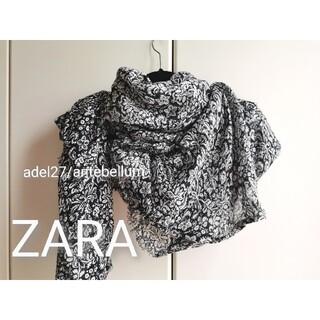 ZARA - 【新品】ZARAフリンジストールショールペイズリー柄todayfulmoussy