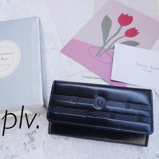 クリスチャンディオール(Christian Dior)のクリスチャンディオール レザー キーケース 未使用箱付き(キーケース)