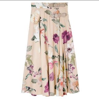 eimy istoire - 【eimy istoire】Sophia flower ベルトフレアスカート