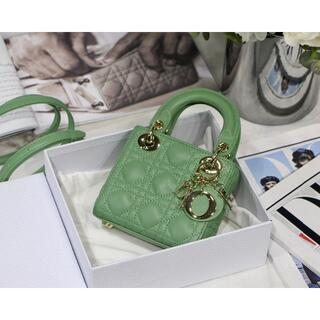 ディオール(Dior)のLADY DIOR バッグ mini(ショルダーバッグ)