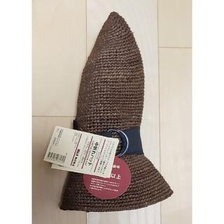 ムジルシリョウヒン(MUJI (無印良品))の無印良品   中折れハット(ブラウン/57.5~59cm)(麦わら帽子/ストローハット)