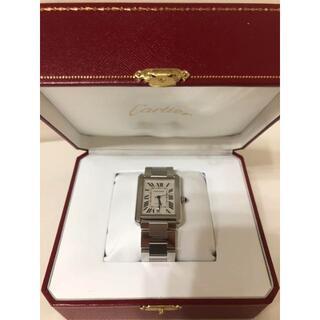 Cartier - 美品!CARTIER 腕時計 タンクソロ シルバー XL
