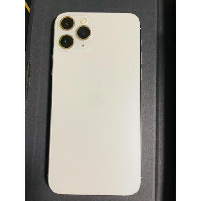 Apple(アップル)の【専用】au iPhone 11 pro 256GB シルバー スマホ/家電/カメラのスマートフォン/携帯電話(スマートフォン本体)の商品写真