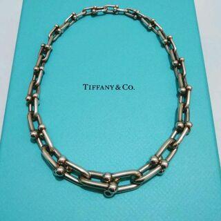 Tiffany & Co. - ティファニー ハードウェア ネックレス グラジュエイテッド