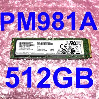 SAMSUNG - Samsung PM981A 512GB MZVLB512HBJQ-00000