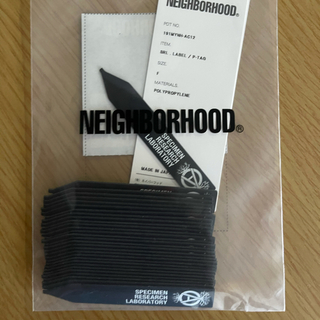 NEIGHBORHOOD - NEIGHBORHOOD SRL . LABEL / P-TAG