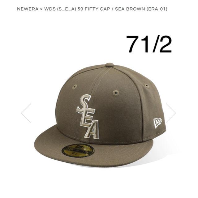 SEA(シー)のNEW ERA × WDS (S_E_A) 59 FIFTY CAP 7-1/2 メンズの帽子(キャップ)の商品写真