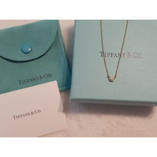 Tiffany & Co. - Tiffany☆ティファニー バイザヤードネックレス イエローゴールド 0.14