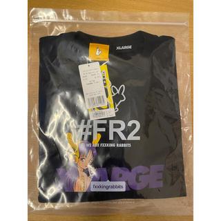 エクストララージ(XLARGE)のXLARGE #FR2 Biker Girl Logo T-shirt XL(Tシャツ/カットソー(半袖/袖なし))