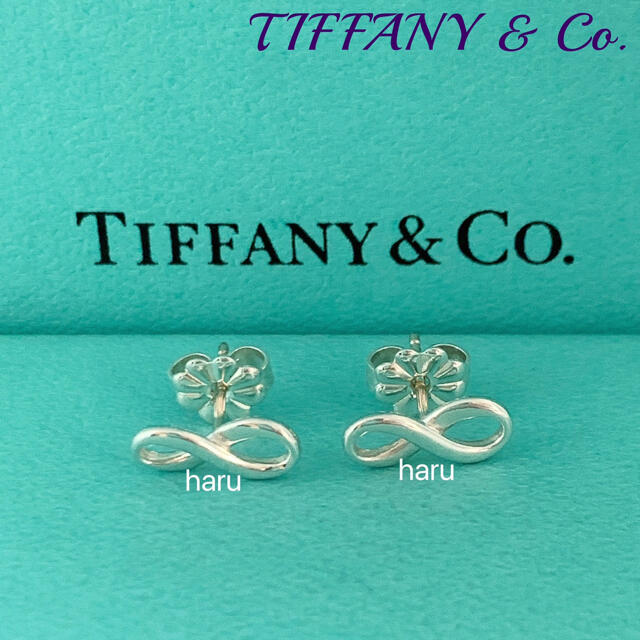 Tiffany & Co.(ティファニー)のTIFFANY&Co. ティファニーインフィニティピアス  レディースのアクセサリー(ピアス)の商品写真