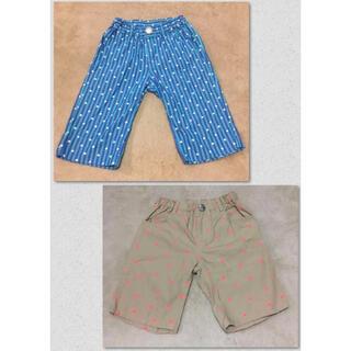 ムージョンジョン(mou jon jon)の男の子 ハーフパンツ 2枚 ムージョンジョン 子供服 ボーイズ ショートパンツ(パンツ/スパッツ)