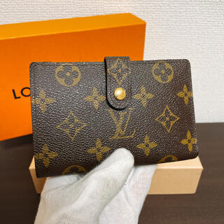 LOUIS VUITTON - 新品同様 ルイヴィトン モノグラム 新型 ヴィエノワ がま口財布