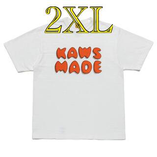 メディコムトイ(MEDICOM TOY)のHUMAN MADE × KAWS #3 2XL(Tシャツ/カットソー(半袖/袖なし))