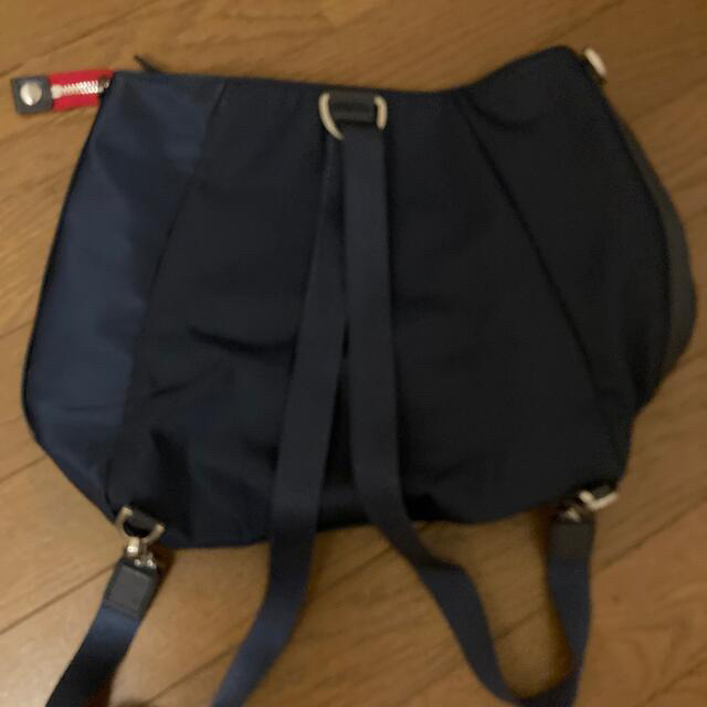 agnes b.(アニエスベー)の送料込💜アニエスベー2wayリュック&ショルダーバッグagnes b.  レディースのバッグ(リュック/バックパック)の商品写真