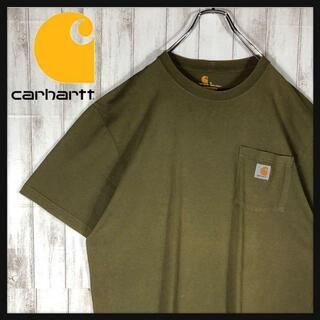 carhartt - 【超希少カラー】 carhartt ワッペンロゴ ポケット Tシャツ メキシコ製