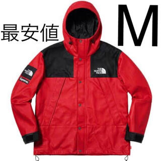 Supreme - Supreme × TNF Leather Mountain Parka RED
