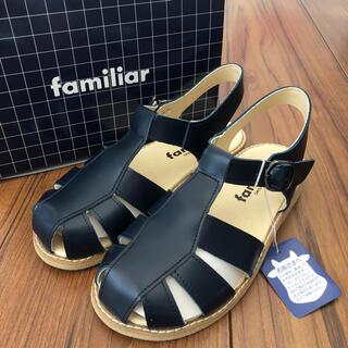 familiar - 【お取置き中】ファミリア 新品サンダル 18