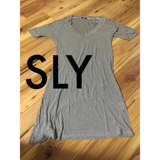 SLY - SLY Tシャツワンピ チュニック