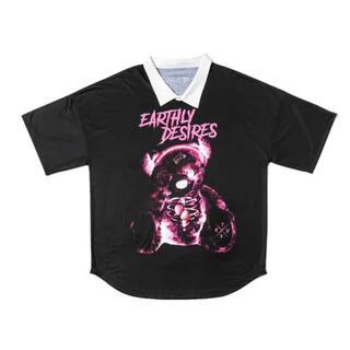 ミルクボーイ(MILKBOY)の期間限定値下げ トラバストーキョー くまプリント ピンク(Tシャツ(半袖/袖なし))