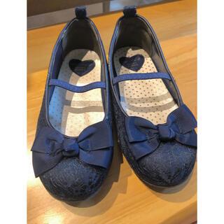 エニィファム(anyFAM)の靴 女の子 クラッシック ネイビー(フォーマルシューズ)