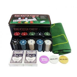 ポーカーセット チップ トランプ カジノゲーム バカラ マット ディーラー(麻雀)