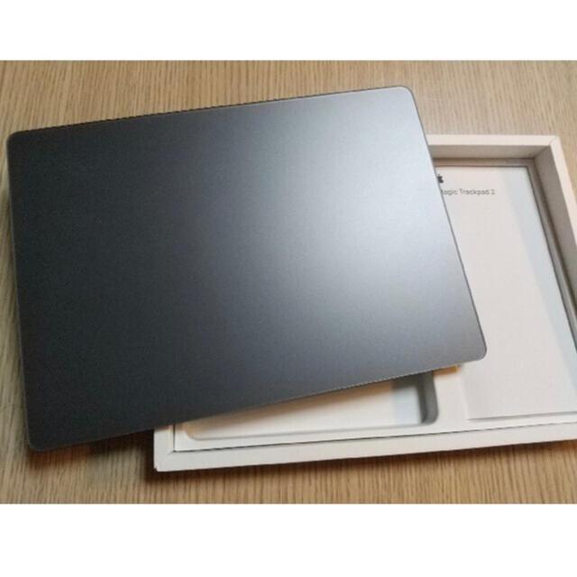 Apple(アップル)の《早い者勝ち》Magic Trackpad2 スペースグレー スマホ/家電/カメラのPC/タブレット(PC周辺機器)の商品写真