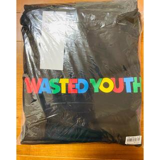 wasted youth ポスカ コラボ パーカー