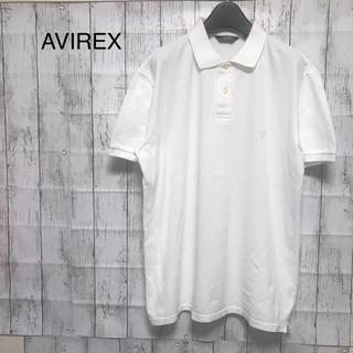 アヴィレックス(AVIREX)のアヴィレックス ポロシャツ ロゴ ワンポイント 無地 XLサイズ(ポロシャツ)