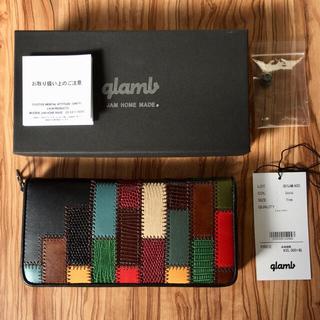 glamb - 岩田剛典 使用モデル/新品/グラム glamb/レザーロングウォレット/長財布